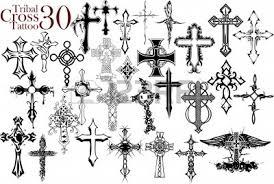 tribal cross design royalty free clipartsvectors stock