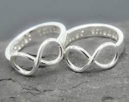 mothers infinity ring infinity ring engraving ring knot ring best friend