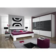 chambre adultes compl鑼e chambre adulte complète aubade l 140 x l 200 cm achat vente