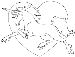 nice photo variety of unicorn printable coloring page right with
