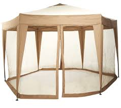 bliss hammocks 13 ft hexagon gazebo with mosquito netting page