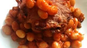 cuisiner les haricots blancs frais haricots blancs frais à la sauce tomate et jambonneau grillé