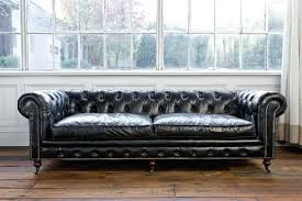 Grey Leather Tufted Sofa Chesterfield Tufted Leather Furniture Veneziacalcioa5