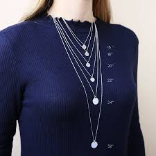 necklace lengths picture images Personalised shiny vertical bar necklace by lisa angel jpg
