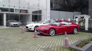 maserati delhi maserati and porsche showrooms and ub city bangalore youtube