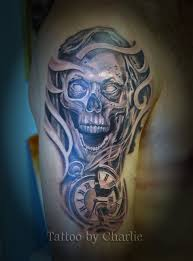 skull arm sleeve 100 unique watch tattoos