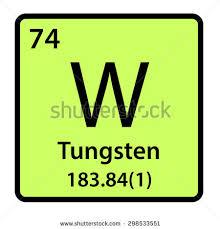 Tungsten Periodic Table Imakarov U0027s Portfolio On Shutterstock