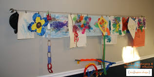 hanging kids artwork dealing with kids artwork revisited twoinspiredesign