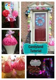 candyland decorations how to create candy garland for candyland accents