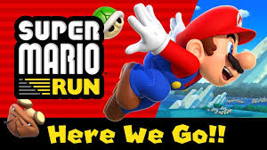 mario android nintendo has prematurely released mario run on android