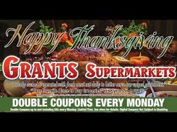 grants weekly ad happy thanksgiving november 11 to 17 2017