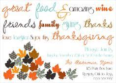 what a simple yet amazing thanksgiving dinner themed invite