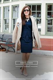 what every type of dress code really means stylecaster