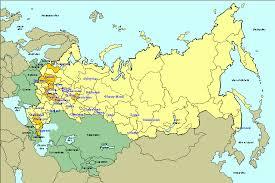 former soviet union map map of phase ii survey russia longitudinal monitoring