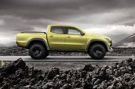 lifted mercedes van 2017 mercedes x class pickup concepts unveiled at last parkers