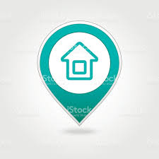 Map Pin Home Map Pin Icon Stock Vector Art 493107038 Istock