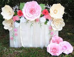 wedding backdrop design template paper flower backdrop diy paper flower patterns and