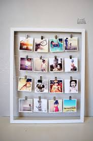 Home Decor Crafts Ideas 10 Ways To Display Instagram Photos Cheap Picture Frames