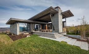home usa design group modern mountain home near jackson hole wyoming usa by larry