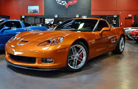 atomic orange corvette convertible for sale sold 2007 z06 atomic orange 12k corvetteforum chevrolet