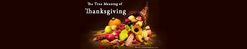 the true meaning of thanksgiving vicki hinze