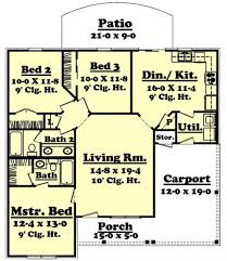 Home Plans With Large Kitchens Home Plans With Large Kitchens