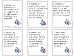 place value mystery number 18 best mystery numbers images on teaching math