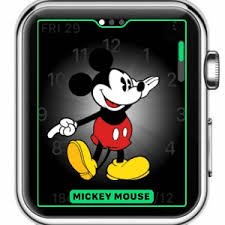 mickey minnie mouse speak apple watch