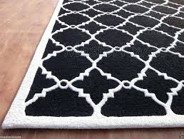 Area Rug Black And White Black And White Living Room Rug Tapinfluence Co