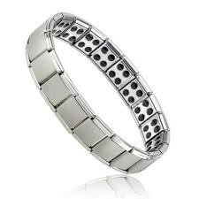 health bracelet titanium images Titanium steel elastic bracelet stretch bracelet bangle for men jpg