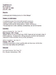 resumes for sales executives effective examples for sales executive resume sections