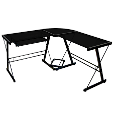 Corner Gaming Desk by Easy Build Glass Corner Desk Home Painting Ideas