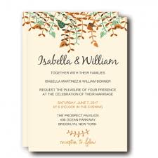 cheap fall wedding invitations rustic invites wedding invites paper