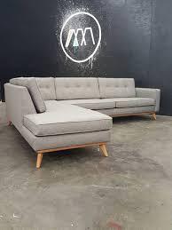 Modern Sofa Chaise Mid Century Modern Sectional Chaise Sofa Chaise Sofa Mid