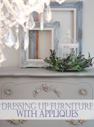 wood appliques for cabinets dressing up a classic french provincial with an easy to glue on
