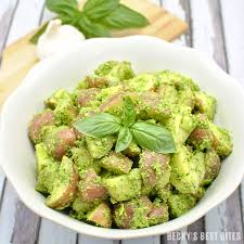 Summer Lunch Menu Ideas For Entertaining Summer Pesto Potato Salad Becky U0027s Best Bites