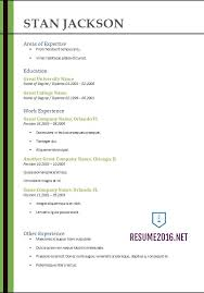 Free Best Resume Templates Best Resume Template 2017 Resume Builder