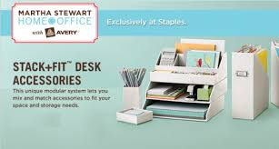 Martha Stewart Desk Accessories Stewart Home Office Desk Organization Giveaway