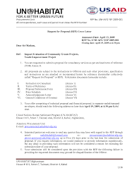 Proposal Cover Letter Examples 12 Best Images Of Rfp Cover Letter Sample Sample Rfp Cover