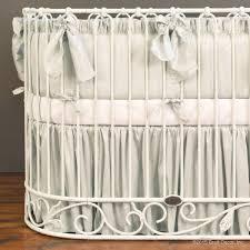 Oval Crib Bedding Luxurious Oval Crib Bedding By Bratt Decor