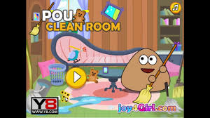 pou games pou clean room game online games funny game for