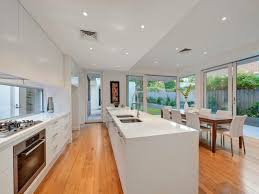 parallel kitchen design island dining parallel kool kitchens pinterest open