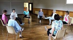 sur chaise la gymnastique volontaire propose de la sur chaise