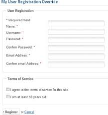 registration html template registration templates word