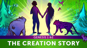 sunday lesson the creation story genesis 1 u0026 2 bible