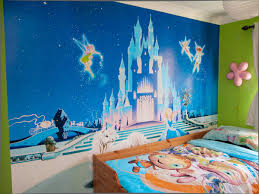 impressive modern farmhouse bedroom decor and with farmhouse glamorous disney cinderella castle mural and tinkerbell baby room ideas and tinkerbell bedroom wallpaper