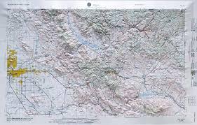 mesa az map raised relief map of mesa arizona usgs