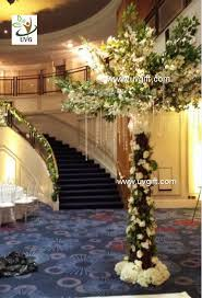 Cherry Blossom Tree Centerpiece by Artificial Cherry And Hydrangea Wedding Table Tree Centerpieces