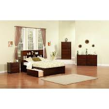 Bed Frame With Tv In Footboard Bed Frames Splendid King Frame With Headboard Brown