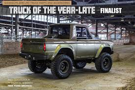 bronco car 2016 1966 ford bronco truck of the year late finalist goodguys news